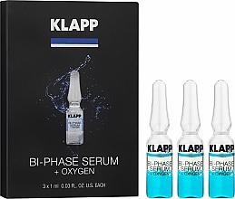 "Fragrances, Perfumes, Cosmetics Bi-Phase ""Oxigen"" - Klapp Bi-Phase Serum Oxygen"