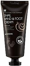 Fragrances, Perfumes, Cosmetics Snail Mucin Hand & Foot Cream - Mizon Snail Hand And Foot Cream