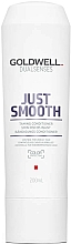 Fragrances, Perfumes, Cosmetics Unruly Hair Conditioner - Goldwell Dualsenses Just Smooth Taming Conditioner