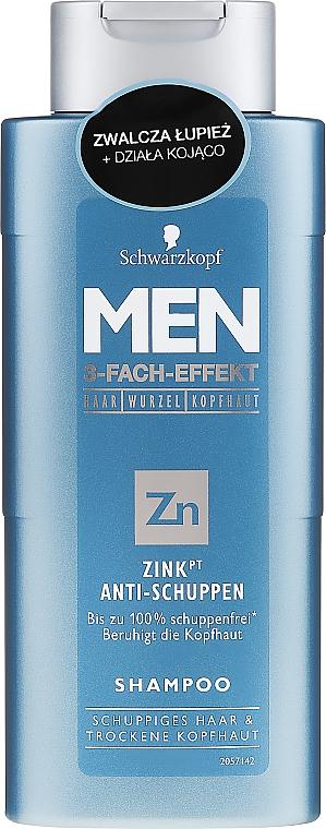 Anti-Dandruff Shampoo - Schwarzkopf Men ZinkPT Anti-Schuppen Shampoo