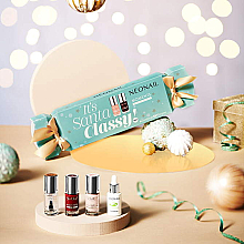 Fragrances, Perfumes, Cosmetics Set - NeoNail Professional It's Santa Classy Set! (nail/polish/3x7.2ml + n/oil/6.5ml)