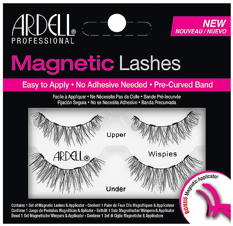 False Lashes - Ardell Magnetic Strip Lash Wispies