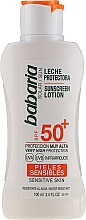 Fragrances, Perfumes, Cosmetics Sun Lotion for Body - Babaria Sunscreen Lotion Spf50