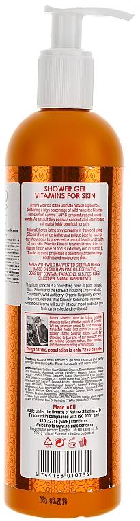 "Shower Gel ""Vitamins for Skin"" - Natura Siberica — photo N2"