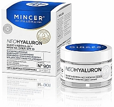 Fragrances, Perfumes, Cosmetics Day Cream for Face - Mincer Neo Hyaluronn Strongly Firming Day Cream 901