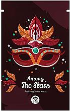 Fragrances, Perfumes, Cosmetics Facial Sheet Mask - Dr Mola Among The Stars Purifying Mask