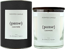 Fragrances, Perfumes, Cosmetics Cashmere Scented Candle - Ambientair The Olphactory Pause Cashmere Black Design