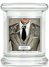 Fragrances, Perfumes, Cosmetics Scented Candle in Glass - Kringle Candle Grey