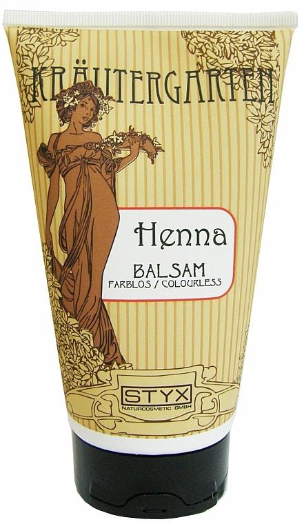 Henna Hair Balm, colorless - Styx Naturcosmetic Henna Balsam
