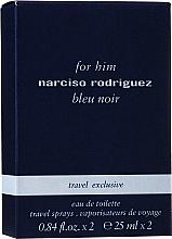 Narciso Rodriguez For Him Bleu Noir - Set (2x25ml) — photo N1