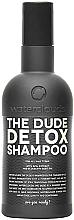 Fragrances, Perfumes, Cosmetics Hair Shampoo 'Detox' - Waterclouds The Dude Detox Shampoo