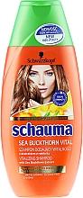 "Fragrances, Perfumes, Cosmetics Shampoo ""Sea Buckthorn Energy"" for Devitalized Tired Hair - Schwarzkopf Schauma Shampoo"