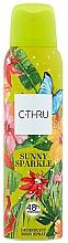 Fragrances, Perfumes, Cosmetics C-Thru Sunny Sparkle - Deodorant