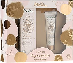 Fragrances, Perfumes, Cosmetics Set - Melvita L'Or Bio (oil/50ml + h/cr/30ml)