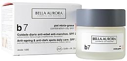 Fragrances, Perfumes, Cosmetics Anti Dark Spots Cream for Combination and Oily Skin - Bella Aurora B7 Combination/Oily Skin Daily Anti-Dark Spot Care