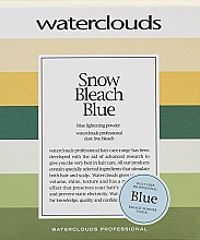 Fragrances, Perfumes, Cosmetics Lightening Powder - Waterclouds Snow Bleach Blue