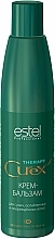 Fragrances, Perfumes, Cosmetics Cream-Balsam for Dry, Weak & Damaged Hair - Estel Professional Curex Therapy Cream-Balsam