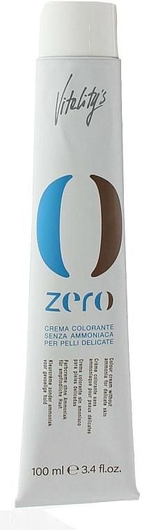 Ammonia-Free Long-Lasting Cream Color - Vitality's Zero Color Cream