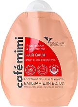 "Fragrances, Perfumes, Cosmetics Hair Balm ""Regeneration & Smoothness"" - Cafe Mimi Hair Balm"