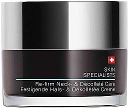 Fragrances, Perfumes, Cosmetics Neck & Decollete Cream - Artemis of Switzerland Skin Specialists Re-Firm Neck und Decollete Care