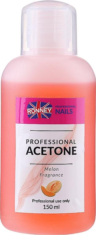Melon Nail Polish Remover - Ronney Professional Acetone Melon