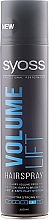 """Fragrances, Perfumes, Cosmetics Extra Strong Hold Max Volume Hair Spray """"Volume Lift"""" - Syoss Styling Volume Lift"""