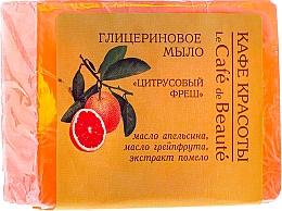 "Fragrances, Perfumes, Cosmetics Glycerin Soap ""Fresh Citrus"" - Le Cafe de Beaute Glycerin Soap"