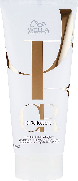 Intense Shine Hair Conditioner - Wella Professionals Oil Reflections Luminous Instant Conditioner