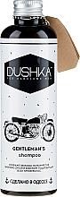 "Fragrances, Perfumes, Cosmetics Men Shampoo ""Gentlemen's Shampoo"" - Dushka"
