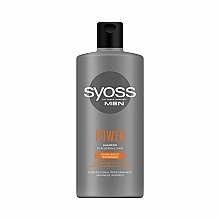 Fragrances, Perfumes, Cosmetics Shampoo for Normal Hair for Men - Syoss Men Power Shampoo