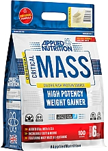 """Fragrances, Perfumes, Cosmetics High Potency Weight Gainer """"Vanilla"""" - Applied Nutrition Critical Mass High Potency Weight Gainer Vanilla"""