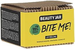 Fragrances, Perfumes, Cosmetics Coconut Oil & Shea Butter Lip Scrub - Beauty Jar Bete Me Lip Peeling