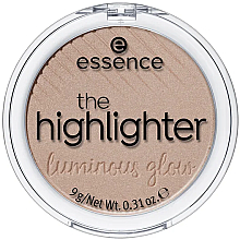 Fragrances, Perfumes, Cosmetics Highlighter - Essence The Highlighter Lumirous Glow