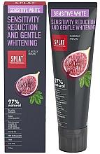 Fragrances, Perfumes, Cosmetics Toothpaste - SPLAT Professional Bio Sensitive White Sensitivity Reduction & Gentle Whitening