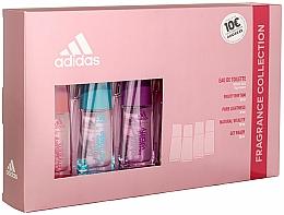 Fragrances, Perfumes, Cosmetics Adidas Fruity Rhythm - Set (edt/4x30ml)