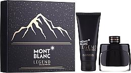 Fragrances, Perfumes, Cosmetics Montblanc Legend Eau De Parfum - Set (edp/50ml + sh/gel/100ml)
