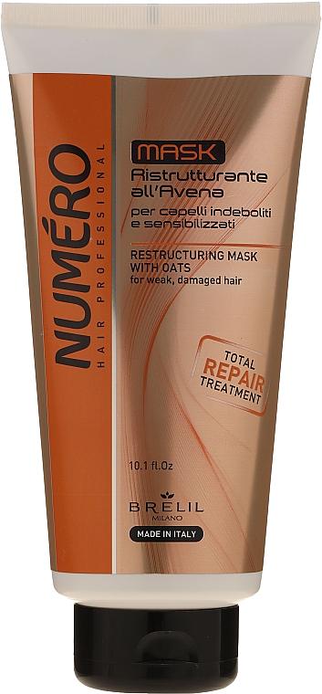 Repairing Oat Extract Hair Mask - Brelil Numero Total Repair Mask