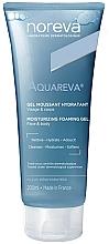 Fragrances, Perfumes, Cosmetics Moisturizing Foaming Gel - Noreva Aquareva Gel Moussant Hydratant