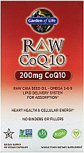 "Fragrances, Perfumes, Cosmetics Dietary Supplement ""Coenzyme Q-10"" - Garden of Life Raw CoQ-10"