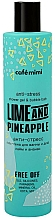 "Fragrances, Perfumes, Cosmetics Anti-Stress Shower Gel & Bubble Bath ""Lime and Pinapple"" - Cafe Mimi Anti-Stress Shower Gel & Bubble Bath Lime And Pinapple"