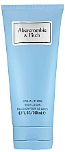 Fragrances, Perfumes, Cosmetics Abercrombie & Fitch First Instinct Blue Women - Body Lotion