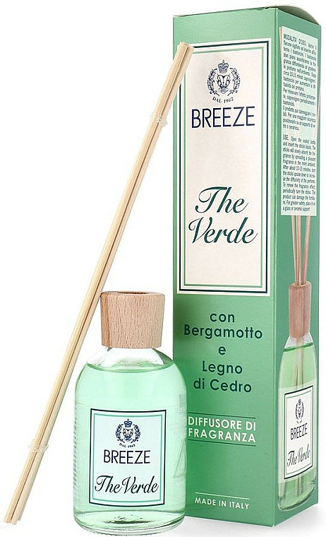 Breeze The Verde - Reed Diffuser