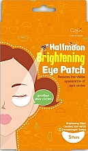 Fragrances, Perfumes, Cosmetics Illuminating Eye Pads - Cettua Halfmoon Brightening Eye Patch