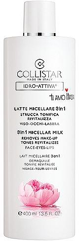 Micellar Water 3 in 1 - Collistar Idro Attiva Latte Micellare 3 in 1