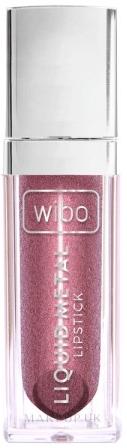 Liquid Lipstick - Wibo Liquid Metal Lipstick — photo 02 - Powerfull Women