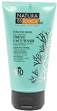 """Fragrances, Perfumes, Cosmetics Refreshing Face Cleansing Gel """"Iceland Moss"""" - Natura Estonica Iceland Moss Face Wash"""