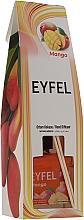 "Fragrances, Perfumes, Cosmetics Reed Diffuser ""Mango"" - Eyfel Perfume Reed Diffuser Mango"