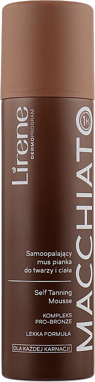 Self-Tanning Face & Body Mousse - Lirene Self-tanning Face & Body Mousse