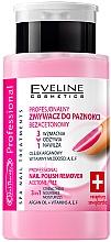 Fragrances, Perfumes, Cosmetics Acetone-Free Nail Polish Remover - Eveline Cosmetics Nail Therapy 3in1 Nail Polish Remover