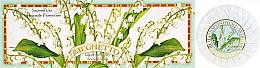 """Fragrances, Perfumes, Cosmetics Soap Set """"Lily Of The Valley"""" - Saponificio Artigianale Fiorentino Lily Of The Valley Soap"""